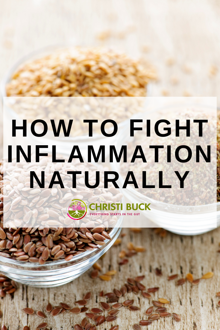 HOW TO FIGHT INFLAMMATION NATURALLY